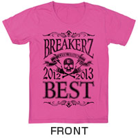 "BREAKERZ | ""BEST""-HALL- Tシャツ-PINK"