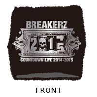 BREAKERZ | COUNTDOWN LIVE 2014-2015 リストバンド(Black)