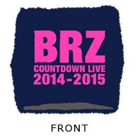 BREAKERZ | COUNTDOWN LIVE 2014-2015 リストバンド(Navy)