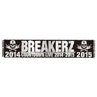 BREAKERZ | COUNTDOWN LIVE 2014-2015 マフラータオル