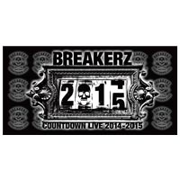 BREAKERZ | COUNTDOWN LIVE 2014-2015 バスタオル