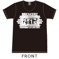 BREAKERZ | COUNTDOWN LIVE 2014-2015 Tシャツ(Black)