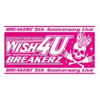 BREAKERZ | WISH 4U BIGタオル4U