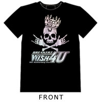 BREAKERZ | WISH 4U TシャツA