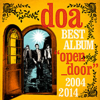 "doa BEST ALBUM ""open_door"" 2004-2014【通常盤】"