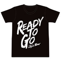 Lily's Blow | Ready to go Tシャツ(ブラック)