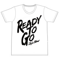 Ready to go Tシャツ(ホワイト)