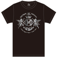 Live–STEP!! SeasonII メインロゴTシャツ(BLACK&SILVER箔)