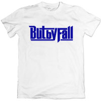But by Fall | But by Fall ロゴT-shirt [White/Navy]