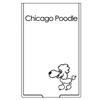 Chicago Poodle | 10th Anniversary ミラー